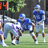 Hamilton College offensive lineman Stephen Kelley (72)<br /> <br /> 9/23/17 1:11:28 PM Football:  Amherst College v Hamilton College at Steuben Field, Hamilton College, Clinton, NY<br /> <br /> Final:  Amherst 36  Hamilton 6<br /> <br /> Photo by Josh McKee