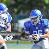 Hamilton College wide receiver Sam Robinson (26)<br /> <br /> 9/23/17 1:12:12 PM Football:  Amherst College v Hamilton College at Steuben Field, Hamilton College, Clinton, NY<br /> <br /> Final:  Amherst 36  Hamilton 6<br /> <br /> Photo by Josh McKee
