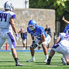 Hamilton College offensive lineman A.J. Cantarella (70)<br /> <br /> 9/23/17 1:11:25 PM Football:  Amherst College v Hamilton College at Steuben Field, Hamilton College, Clinton, NY<br /> <br /> Final:  Amherst 36  Hamilton 6<br /> <br /> Photo by Josh McKee