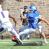 Hamilton College wide receiver Sam Robinson (26)<br /> <br /> 9/23/17 1:09:38 PM Football:  Amherst College v Hamilton College at Steuben Field, Hamilton College, Clinton, NY<br /> <br /> Final:  Amherst 36  Hamilton 6<br /> <br /> Photo by Josh McKee