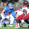 Hamilton College linebacker Cole Burchill (6)<br /> <br /> 11/11/17 1:14:03 PM Football:  Bates College v Hamilton College at Steuben Field, Hamilton College, Clinton, NY<br /> <br /> Final:  Bates 14  Hamilton 35<br /> <br /> Photo by Josh McKee