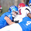 Hamilton College linebacker Cole Burchill (6)<br /> <br /> 11/11/17 1:07:13 PM Football:  Bates College v Hamilton College at Steuben Field, Hamilton College, Clinton, NY<br /> <br /> Final:  Bates 14  Hamilton 35<br /> <br /> Photo by Josh McKee
