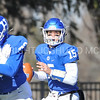 Hamilton College quarterback Kenny Gray (15)<br /> <br /> 11/11/17 1:18:29 PM Football:  Bates College v Hamilton College at Steuben Field, Hamilton College, Clinton, NY<br /> <br /> Final:  Bates 14  Hamilton 35<br /> <br /> Photo by Josh McKee