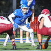 Hamilton College linebacker Tyler Hudson (4)<br /> <br /> 11/11/17 1:08:59 PM Football:  Bates College v Hamilton College at Steuben Field, Hamilton College, Clinton, NY<br /> <br /> Final:  Bates 14  Hamilton 35<br /> <br /> Photo by Josh McKee