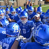 Team, Hamilton College wide receiver Ryan Phelps (8)<br /> <br /> 11/11/17 1:02:20 PM Football:  Bates College v Hamilton College at Steuben Field, Hamilton College, Clinton, NY<br /> <br /> Final:  Bates 14  Hamilton 35<br /> <br /> Photo by Josh McKee