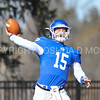 Hamilton College quarterback Kenny Gray (15)<br /> <br /> 11/11/17 1:18:30 PM Football:  Bates College v Hamilton College at Steuben Field, Hamilton College, Clinton, NY<br /> <br /> Final:  Bates 14  Hamilton 35<br /> <br /> Photo by Josh McKee