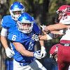 Hamilton College linebacker Cole Burchill (6)<br /> <br /> 11/11/17 1:09:15 PM Football:  Bates College v Hamilton College at Steuben Field, Hamilton College, Clinton, NY<br /> <br /> Final:  Bates 14  Hamilton 35<br /> <br /> Photo by Josh McKee