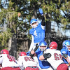 Hamilton College linebacker Tyler Hudson (4)<br /> <br /> 11/11/17 1:16:28 PM Football:  Bates College v Hamilton College at Steuben Field, Hamilton College, Clinton, NY<br /> <br /> Final:  Bates 14  Hamilton 35<br /> <br /> Photo by Josh McKee