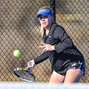 4/2/18 3:48:35 PM Tennis: Hamilton College Men and Women at Tietje Family Tennis Center, Hamilton College, Clinton, NY<br /> <br /> Photo by Josh McKee