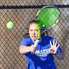 4/2/18 3:49:04 PM Tennis: Hamilton College Men and Women at Tietje Family Tennis Center, Hamilton College, Clinton, NY<br /> <br /> Photo by Josh McKee
