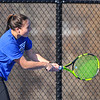 4/2/18 3:49:00 PM Tennis: Hamilton College Men and Women at Tietje Family Tennis Center, Hamilton College, Clinton, NY<br /> <br /> Photo by Josh McKee