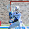 Hamilton College goalkeeper Max Scheidl (34)<br /> <br /> 3/31/18 10:36:55 AM Men's Lacrosse: Bates College v Hamilton College at Steuben Field, Hamilton College, Clinton, NY<br /> <br /> Photo by Josh McKee