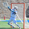 Hamilton College goalkeeper Max Scheidl (34)<br /> <br /> 3/31/18 10:36:49 AM Men's Lacrosse: Bates College v Hamilton College at Steuben Field, Hamilton College, Clinton, NY<br /> <br /> Photo by Josh McKee