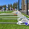 Sticks<br /> <br /> 3/31/18 10:51:53 AM Men's Lacrosse: Bates College v Hamilton College at Steuben Field, Hamilton College, Clinton, NY<br /> <br /> Photo by Josh McKee