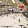 Team, Sage Rink<br /> <br /> 2/24/18 4:23:59 PM Men's Hockey: NESCAC Championship Quarterfinal-- Wesleyan University v Hamilton College at Russell Sage Rink, Hamilton College, Clinton, NY<br /> <br /> Final:  Wesleyan 2   Hamilton 1<br /> <br /> Photo by Josh McKee