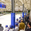 Team, Bench, Sage Rink<br /> <br /> 2/24/18 4:30:43 PM Men's Hockey: NESCAC Championship Quarterfinal-- Wesleyan University v Hamilton College at Russell Sage Rink, Hamilton College, Clinton, NY<br /> <br /> Final:  Wesleyan 2   Hamilton 1<br /> <br /> Photo by Josh McKee