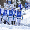 Team<br /> <br /> 3/4/18 12:19:24 PM Men's Lacrosse: Tufts University v Hamilton College at Withiam Field, Hamilton College, Clinton, NY<br /> <br /> Photo by Josh McKee