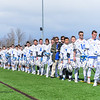Team, Anthem<br /> <br /> 3/4/18 1:00:34 PM Men's Lacrosse: Tufts University v Hamilton College at Withiam Field, Hamilton College, Clinton, NY<br /> <br /> Photo by Josh McKee