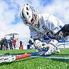 Hamilton College midfielder Eric Zurmuehle (20)<br /> <br /> 3/4/18 12:41:22 PM Men's Lacrosse: Tufts University v Hamilton College at Withiam Field, Hamilton College, Clinton, NY<br /> <br /> Photo by Josh McKee