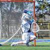 Hamilton College goalkeeper Kyle Gately (33)<br /> <br /> 4/21/18 2:44:57 PM Men's Lacrosse: #5 Wesleyan University v Hamilton College at Steuben Field, Hamilton College, Clinton, NY<br /> <br /> Final:  #5 Wesleyan 8   Hamilton 7 <br /> <br /> Photo by Josh McKee