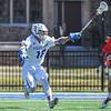 Hamilton College midfielder Alex Choy (19)<br /> <br /> 4/21/18 1:10:45 PM Men's Lacrosse: #5 Wesleyan University v Hamilton College at Steuben Field, Hamilton College, Clinton, NY<br /> <br /> Final:  #5 Wesleyan 8   Hamilton 7 <br /> <br /> Photo by Josh McKee