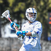 Hamilton College midfielder Alex Choy (19)<br /> <br /> 4/21/18 1:34:33 PM Men's Lacrosse: #5 Wesleyan University v Hamilton College at Steuben Field, Hamilton College, Clinton, NY<br /> <br /> Final:  #5 Wesleyan 8   Hamilton 7 <br /> <br /> Photo by Josh McKee