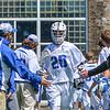 Hamilton College midfielder Eric Zurmuehle (20)<br /> <br /> 4/21/18 1:02:58 PM Men's Lacrosse: #5 Wesleyan University v Hamilton College at Steuben Field, Hamilton College, Clinton, NY<br /> <br /> Final:  #5 Wesleyan 8   Hamilton 7 <br /> <br /> Photo by Josh McKee