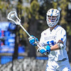 Hamilton College midfielder Henry Hill (11)<br /> <br /> 4/21/18 1:33:11 PM Men's Lacrosse: #5 Wesleyan University v Hamilton College at Steuben Field, Hamilton College, Clinton, NY<br /> <br /> Final:  #5 Wesleyan 8   Hamilton 7 <br /> <br /> Photo by Josh McKee