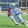 Hamilton College A/M Chad Morse (3)<br /> <br /> 4/21/18 1:18:30 PM Men's Lacrosse: #5 Wesleyan University v Hamilton College at Steuben Field, Hamilton College, Clinton, NY<br /> <br /> Final:  #5 Wesleyan 8   Hamilton 7 <br /> <br /> Photo by Josh McKee