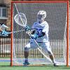 Hamilton College goalkeeper Kyle Gately (33)<br /> <br /> 4/21/18 2:03:02 PM Men's Lacrosse: #5 Wesleyan University v Hamilton College at Steuben Field, Hamilton College, Clinton, NY<br /> <br /> Final:  #5 Wesleyan 8   Hamilton 7 <br /> <br /> Photo by Josh McKee