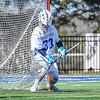 Hamilton College goalkeeper Kyle Gately (33)<br /> <br /> 4/21/18 2:46:08 PM Men's Lacrosse: #5 Wesleyan University v Hamilton College at Steuben Field, Hamilton College, Clinton, NY<br /> <br /> Final:  #5 Wesleyan 8   Hamilton 7 <br /> <br /> Photo by Josh McKee