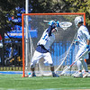 Hamilton College goalkeeper Kyle Gately (33)<br /> <br /> 4/21/18 1:34:15 PM Men's Lacrosse: #5 Wesleyan University v Hamilton College at Steuben Field, Hamilton College, Clinton, NY<br /> <br /> Final:  #5 Wesleyan 8   Hamilton 7 <br /> <br /> Photo by Josh McKee