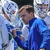 Hamilton College Assistant Coach<br /> <br /> 4/21/18 2:25:26 PM Men's Lacrosse: #5 Wesleyan University v Hamilton College at Steuben Field, Hamilton College, Clinton, NY<br /> <br /> Final:  #5 Wesleyan 8   Hamilton 7 <br /> <br /> Photo by Josh McKee