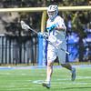 Hamilton College long stick midfielder Quinn Morris (77)<br /> <br /> 4/21/18 1:34:23 PM Men's Lacrosse: #5 Wesleyan University v Hamilton College at Steuben Field, Hamilton College, Clinton, NY<br /> <br /> Final:  #5 Wesleyan 8   Hamilton 7 <br /> <br /> Photo by Josh McKee