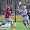 Hamilton College defender Matt Greene (10)<br /> <br /> 4/21/18 1:18:11 PM Men's Lacrosse: #5 Wesleyan University v Hamilton College at Steuben Field, Hamilton College, Clinton, NY<br /> <br /> Final:  #5 Wesleyan 8   Hamilton 7 <br /> <br /> Photo by Josh McKee