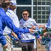 Hamilton College attacker Jordan Fong (50)<br /> <br /> 4/21/18 1:03:38 PM Men's Lacrosse: #5 Wesleyan University v Hamilton College at Steuben Field, Hamilton College, Clinton, NY<br /> <br /> Final:  #5 Wesleyan 8   Hamilton 7 <br /> <br /> Photo by Josh McKee