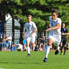 Hamilton College forward Jefri Schmidt (10)<br /> <br /> 10/7/17 3:06:02 PM Men's Soccer: Amherst College v Hamilton College, at Love Field, Hamilton College, Clinton, NY<br /> <br /> Final:  Amherst 0  Hamilton 0  2OT<br /> <br /> Photo by Josh McKee