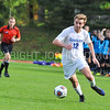 Hamilton College forward Aidan Wood (12)<br /> <br /> 10/7/17 4:03:58 PM Men's Soccer: Amherst College v Hamilton College, at Love Field, Hamilton College, Clinton, NY<br /> <br /> Final:  Amherst 0  Hamilton 0  2OT<br /> <br /> Photo by Josh McKee