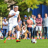 Hamilton College forward Jeffrey Plump (24)<br /> <br /> 10/7/17 3:32:35 PM Men's Soccer: Amherst College v Hamilton College, at Love Field, Hamilton College, Clinton, NY<br /> <br /> Final:  Amherst 0  Hamilton 0  2OT<br /> <br /> Photo by Josh McKee