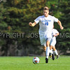 Hamilton College M Joe Harrington (19)<br /> <br /> 10/7/17 3:16:59 PM Men's Soccer: Amherst College v Hamilton College, at Love Field, Hamilton College, Clinton, NY<br /> <br /> Final:  Amherst 0  Hamilton 0  2OT<br /> <br /> Photo by Josh McKee