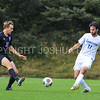 Hamilton College defender Eli Lichtman (11)<br /> <br /> 10/7/17 2:32:25 PM Men's Soccer: Amherst College v Hamilton College, at Love Field, Hamilton College, Clinton, NY<br /> <br /> Final:  Amherst 0  Hamilton 0  2OT<br /> <br /> Photo by Josh McKee