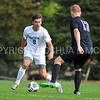 Hamilton College forward Matt Casadei (9)<br /> <br /> 10/7/17 3:20:27 PM Men's Soccer: Amherst College v Hamilton College, at Love Field, Hamilton College, Clinton, NY<br /> <br /> Final:  Amherst 0  Hamilton 0  2OT<br /> <br /> Photo by Josh McKee