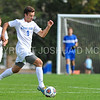 Hamilton College forward Matt Casadei (9)<br /> <br /> 10/7/17 3:20:30 PM Men's Soccer: Amherst College v Hamilton College, at Love Field, Hamilton College, Clinton, NY<br /> <br /> Final:  Amherst 0  Hamilton 0  2OT<br /> <br /> Photo by Josh McKee