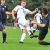 Hamilton College M Eli Morris (13)<br /> <br /> 10/7/17 1:54:03 PM Men's Soccer: Amherst College v Hamilton College, at Love Field, Hamilton College, Clinton, NY<br /> <br /> Final:  Amherst 0  Hamilton 0  2OT<br /> <br /> Photo by Josh McKee