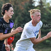 Hamilton College defender Luke Eckels (16)<br /> <br /> 10/7/17 3:53:01 PM Men's Soccer: Amherst College v Hamilton College, at Love Field, Hamilton College, Clinton, NY<br /> <br /> Final:  Amherst 0  Hamilton 0  2OT<br /> <br /> Photo by Josh McKee