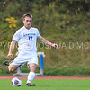 Hamilton College defender Matt Kastilahn (17)<br /> <br /> 10/7/17 2:35:03 PM Men's Soccer: Amherst College v Hamilton College, at Love Field, Hamilton College, Clinton, NY<br /> <br /> Final:  Amherst 0  Hamilton 0  2OT<br /> <br /> Photo by Josh McKee