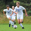 Hamilton College forward Aidan Wood (12)<br /> <br /> 10/7/17 2:04:46 PM Men's Soccer: Amherst College v Hamilton College, at Love Field, Hamilton College, Clinton, NY<br /> <br /> Final:  Amherst 0  Hamilton 0  2OT<br /> <br /> Photo by Josh McKee