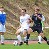 Hamilton College defender Matt Kastilahn (17)<br /> <br /> 10/7/17 2:03:25 PM Men's Soccer: Amherst College v Hamilton College, at Love Field, Hamilton College, Clinton, NY<br /> <br /> Final:  Amherst 0  Hamilton 0  2OT<br /> <br /> Photo by Josh McKee