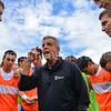 Hamilton College Head Coach Perry Nizzi<br /> <br /> 10/7/17 1:51:13 PM Men's Soccer: Amherst College v Hamilton College, at Love Field, Hamilton College, Clinton, NY<br /> <br /> Final:  Amherst 0  Hamilton 0  2OT<br /> <br /> Photo by Josh McKee
