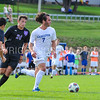 Hamilton College M Greg Milnarik (7)<br /> <br /> 10/7/17 3:55:16 PM Men's Soccer: Amherst College v Hamilton College, at Love Field, Hamilton College, Clinton, NY<br /> <br /> Final:  Amherst 0  Hamilton 0  2OT<br /> <br /> Photo by Josh McKee